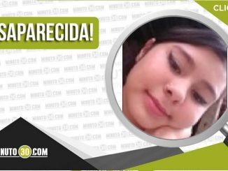 Sara Valeria Durán Farfán desaparecida
