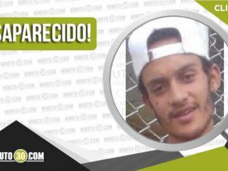 Jhon Alexander Acevedo Rojas desaparecido