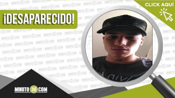 David Alejandro Correa Celis desaparecido