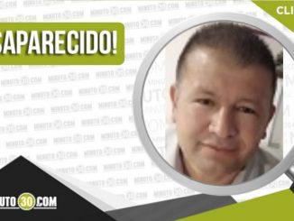 Javier de Jesús Foronda Jiménez desaparecido