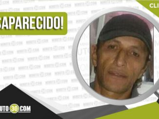 Javier Alberto Muñetón Cataño desaparecido