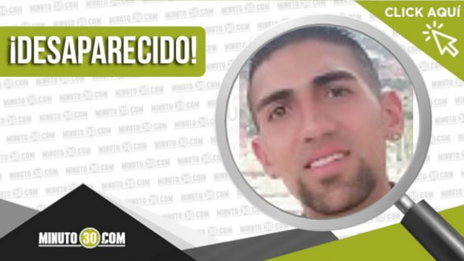 Juan Sebastián Alarcón Zuluaga desaparecido
