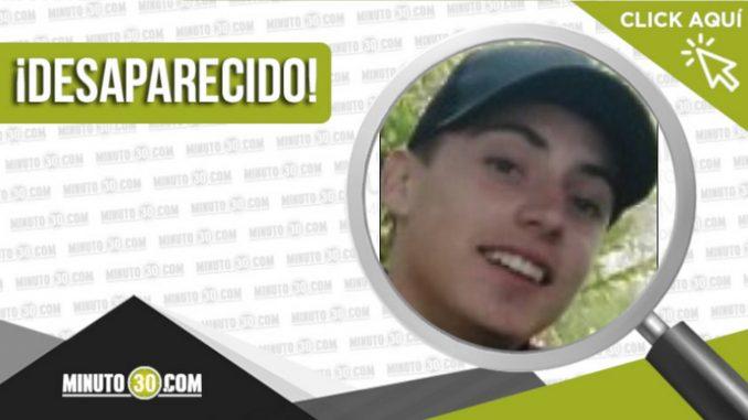 Brayan Espinosa Montoya desaparecido