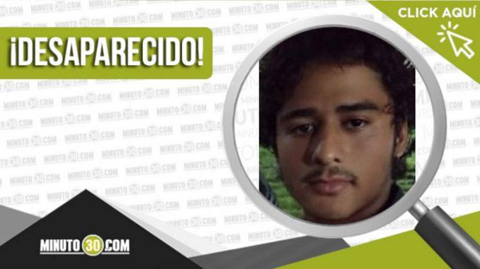 Juan Pablo Holguín Guisao desaparecido
