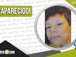 Enderson José Daza Ortega desaparecido