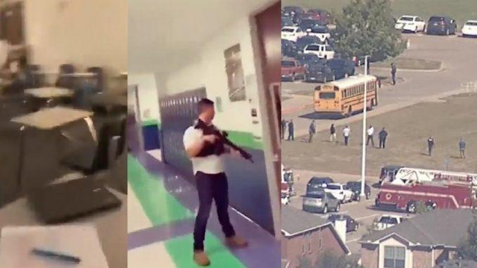 Terror en escuela secundaria de Texas, Estados Unidos por tirote