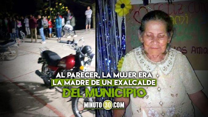Mujer de 80 años murió en ataque a estación de Policía