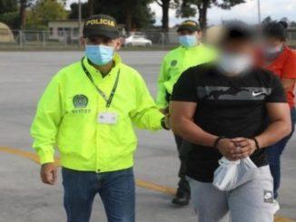 Cayeron cinco extraditables en el sur del país