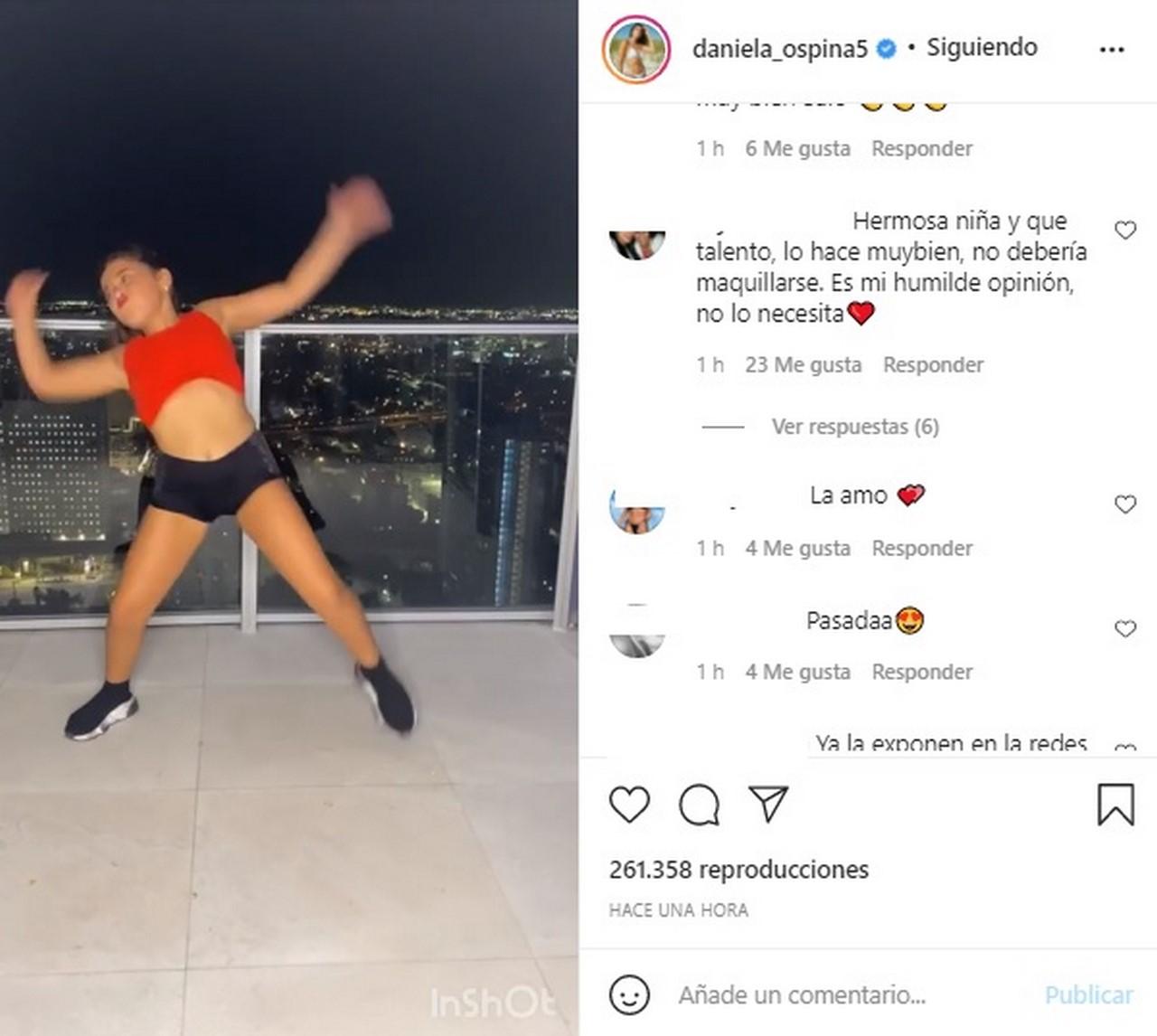 hija de daniela ospina bailando1