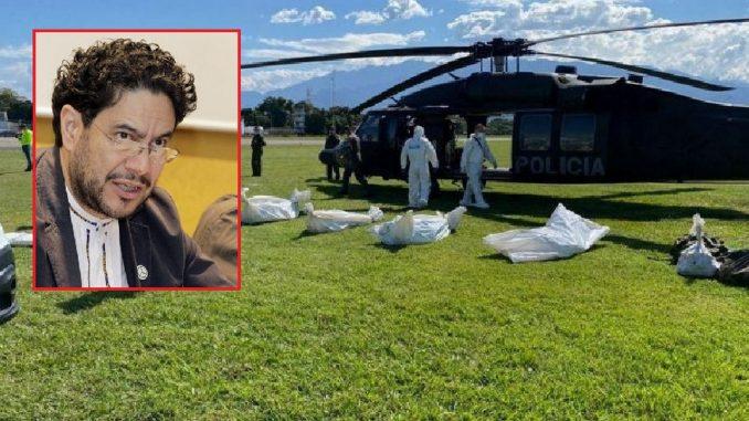 Cepeda denuncia que en bombardeo murieron adolescentes