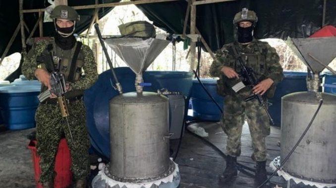 Destruyeron dos complejos de cocaína que serían de 'Los Contadores'