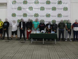 Cayó 'La Parabólica', cogieron a 14 presuntos integrantes