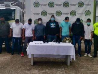 Cayeron 'Los Piquiña' en Cundinamarca y Tolima