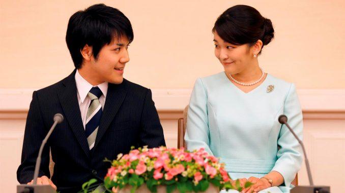 La princesa Mako y su novio Kei Komuro se casarán el 26 de octubre, anunció la Agencia de la Casa Imperial (IHA). EFE/EPA/SHIZUO KAMBAYASHI / POOL