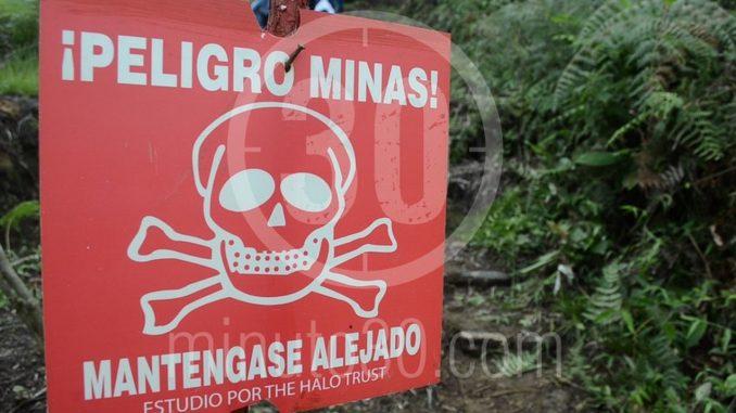 Dos policías heridos al pisar una mina antipersonal en San Pedro de Urabá