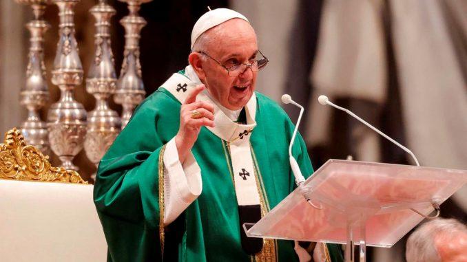 papa francisco iglesia dios