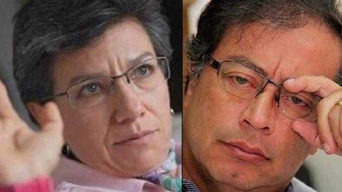 Rechazan tutela de Gustavo Petro contra Claudia López