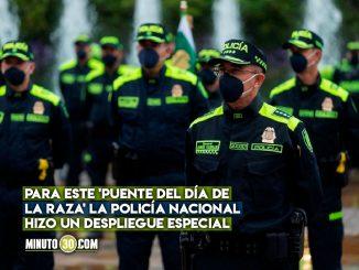 Más de 75 mil policías desplegados para este puente festivo