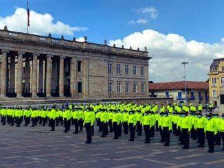 Llegan 500 policías a Bogotá para contener la delincuencia