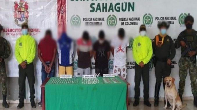 Desarticulada banda delincuencial en Sahagún, Córdoba