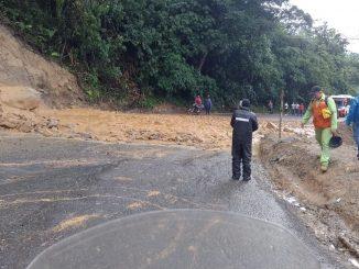 Cierre de la vía Medellín-Cisneros, sector La Chorrera