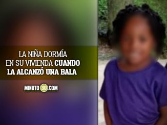 Niña de tan solo 4 añitos murió por una bala perdida