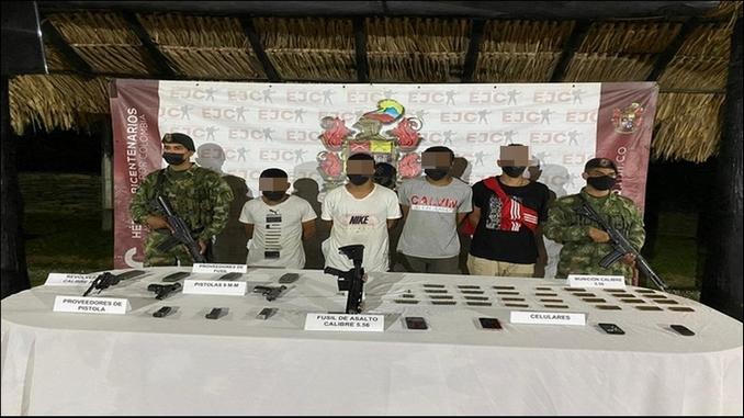 capturados clan golfo