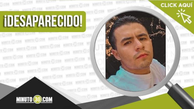 Juan Diego Eusse Maldonado está desaparecido