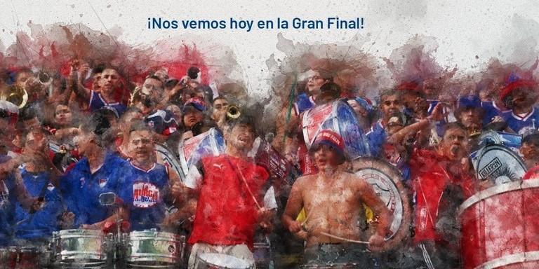 Independiente Medellin tambien celebro el regreso de los hinchas al Atanasio Girardot