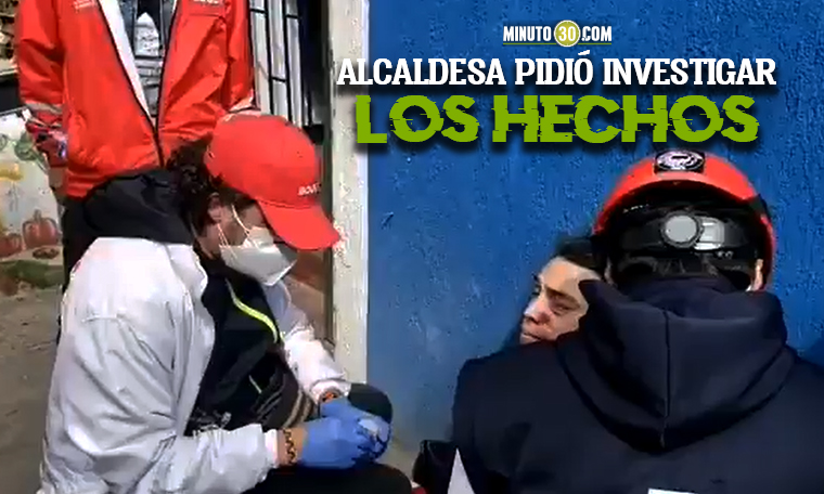 En medio de nuevas protestas en Bogota joven fue herido en un ojo con una municion del Esmad